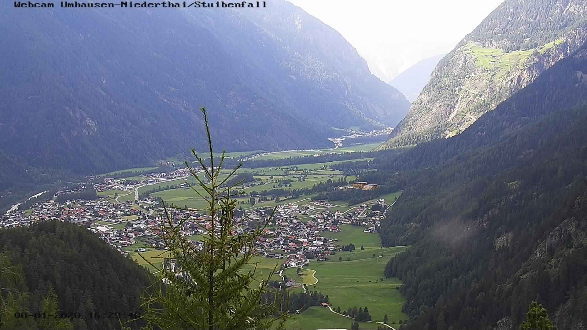 Webcam Stuibenfall/Umhausen